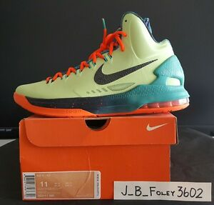 07792dee200 Nike KD V5 Area 72 Extraterrestrial All-Star ASG Durant Galaxy Size ...