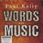 Words & Music 0602527397948 by Paul Kelly CD