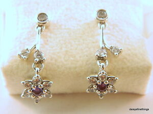 18eca3816 Image is loading NEW-TAGS-AUTHENTIC-PANDORA-EARRINGS-FORGET-ME-NOT-