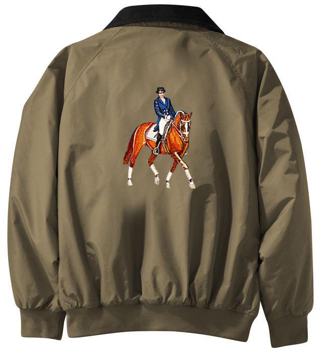 Doma Bordado Jacket-Chaqueta posterior-Tallas Xs A Xl