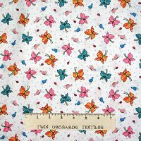 Mary Englebreit Fabric Mottos To Live By Butterfly White Quilting Treasures Yard
