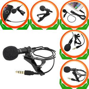 1-5M-Clip-Mini-Stereo-Mikrofon-Microphone-fuer-Smartphone-PC-laptop-ipad-Neu