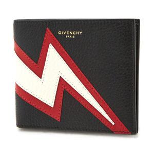 Image is loading Givenchy-Wallet-Black-Calf-Leather-Mens-Bifold-BK6005K0BS- 5ed748647