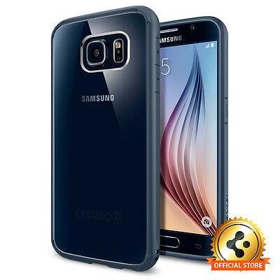 Spigen® Samsung Galaxy S6 Ultra Hybrid Clear TPU Shockproof Case +Back Protector