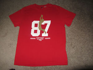 3534c8216 San Francisco 49ers Dwight Clark Day #87 Football SGA Shirt XL | eBay