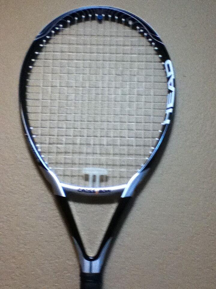 HEAD CROSS BOW AIRFLOW 7 CROSSBOW Tennis Racquet STRUNG STRUNG Racquet 4-1/4