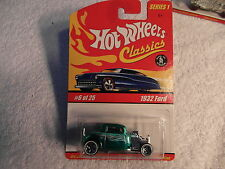 2005 HW Hotwheels CLASSICS Series 1 1932 FORD  GREEN Variations VHTF