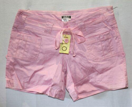 casual Taglia in si113 Shorts 8 cotone rosa Bnwt Filo marca dYvY4xqw