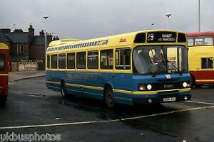 PMT-Potteries-Motor-Traction-No-301-Newcastle-Under-Lyme-1986-Bus-Photo