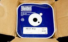 1 New 1000ft365m Belden 8520 014 Pvc Hook Up Wire 14 Awg 1000v Red White