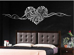 image is loading heart islamic pattern removable vinyl wall sticker art - Islamic Home Decoration