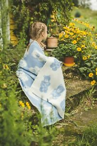 Baby-Blanket-Quilt-Swaddle-Wool-90x130cm-Girl-Boy-Kids-Cozy-Soft-Warm-Blue-Bear