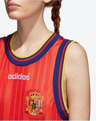 Adidas Piccola calcio mondo Ramos Spagna del Coppa Canotta Maglia da di donna Sergio ce2311 gU4nEO