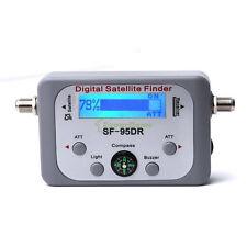 Digital Satellite Signal Meter Finder Dish Network Directv w/Compass FTA Buzzer