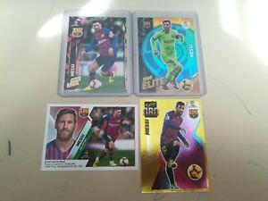 Leo Messi Barcelona Panini Este & Megacracks Bases + Elite + Serie Oro 19 20