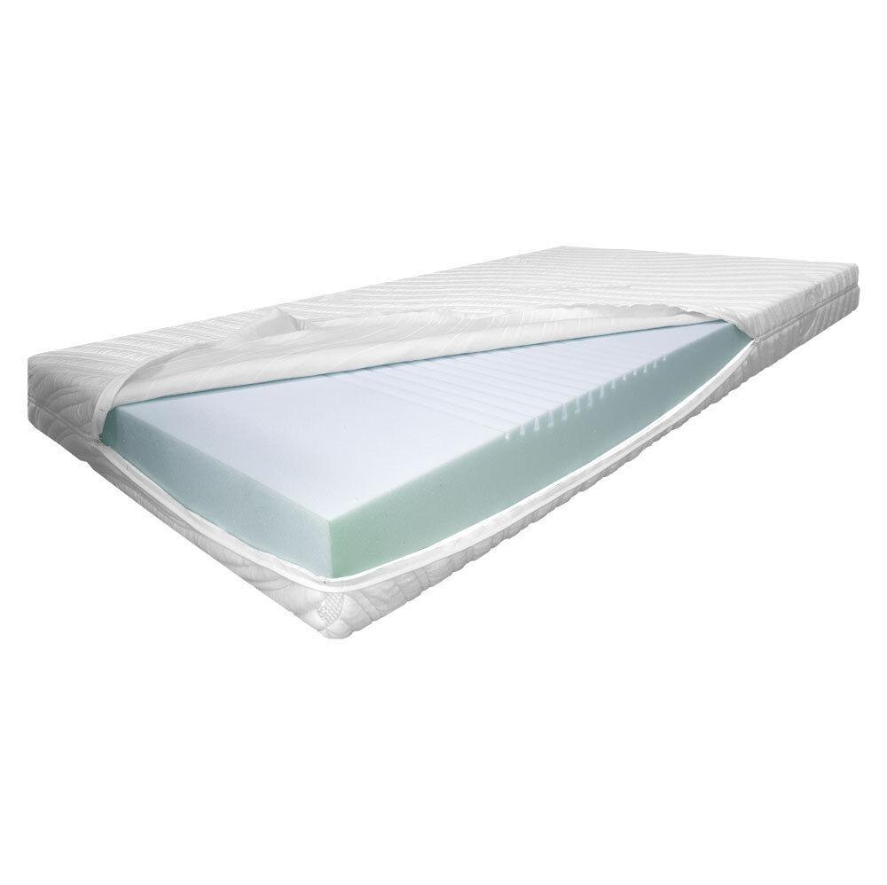 7 Zonen Comfortschaum Matratze Größe 100 x 220 x 17,5cm Bezug MilanoEC H 3