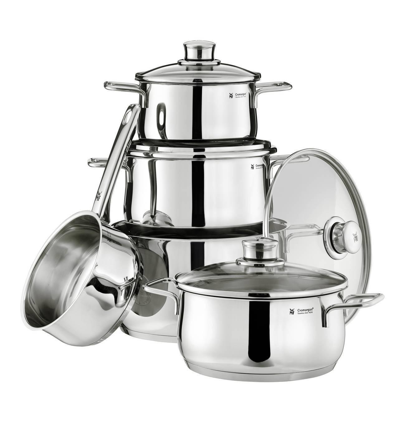 WMF Diadème plus Ustensiles de Cuisine-Set casseroles 9 pièces Induction 0730356040 NEUF