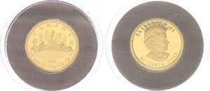 Canada-50-Cent-Gold-2005-1-25-oz-Pf-in-Capsule