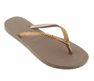 Havaianas-Slim-Glitter-Flip-Flops-Rose-Gold