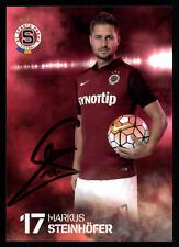 Markus Steinhöfer Autogrammkarte Sparta Prag 2015-16 Original Signiert+A 114256