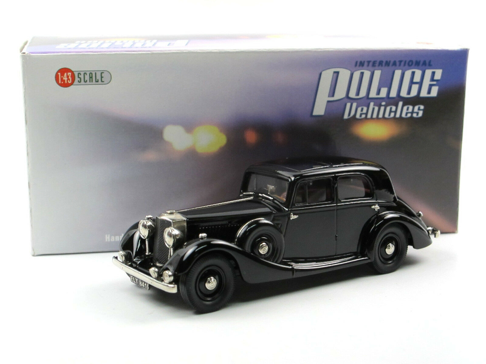 Brooklin models IPV 46 - 1939 Cobham Saloon  Flying Squad  Police 1 43