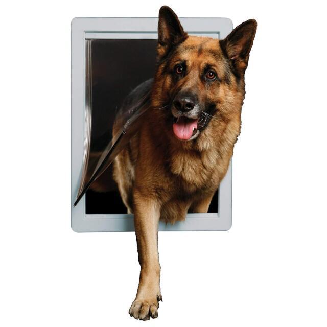 Ideal LOCKABLE Dog Pet Door Designer Series Easy Install SUPER XX-LARGE