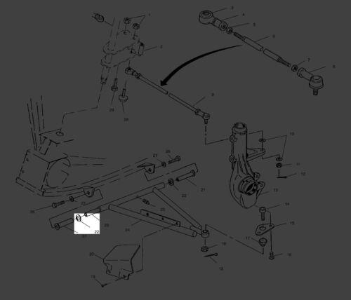 Polaris Sportsman 500 Sportsman 335 Bushing A Arm Spacer10 5020677 New OEM