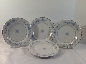 Image is loading LYNNS-FINE-CHINA-Luncheon-Plates-7-1-2- & LYNNS FINE CHINA Luncheon Plates 7 1/2