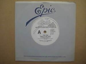 THE-THE-This-Is-The-Day-RARE-AUSSIE-7-034-PROMO-1983-ES-912-MATT-JOHNSON