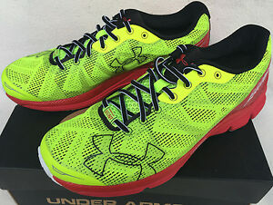 size 40 b3092 18ae4 Details about Under Armour Charged Bandit 1258783-731 High-Vis Running  Marathon Shoes Men's 11