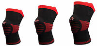 Ultra Flex Athletics Knee Brace Support Sleeve W/ Stabilizers & Padding, 3 Sizes