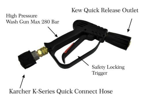 Gatillo de la pistola de lavado Lavadora a presión Karcher K-Serie De Entrada /& Kew de liberación rápida