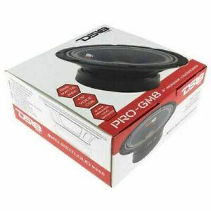 "2 OF 8"" Midrange LoudSpeaker 8 Ohm 1160W Pro Car Audio DS18 PRO-GM8  NEW PAIR"