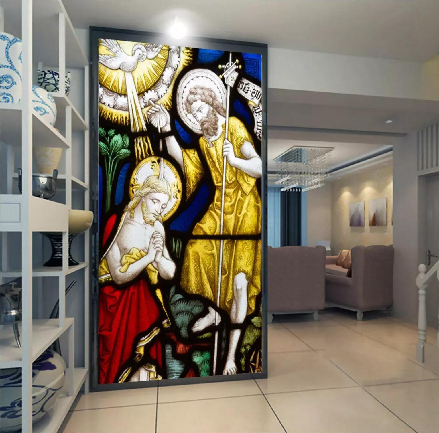 3D Devotional Christian 23 Wallpaper Mural Print Wall Indoor Wallpaper Mural UK
