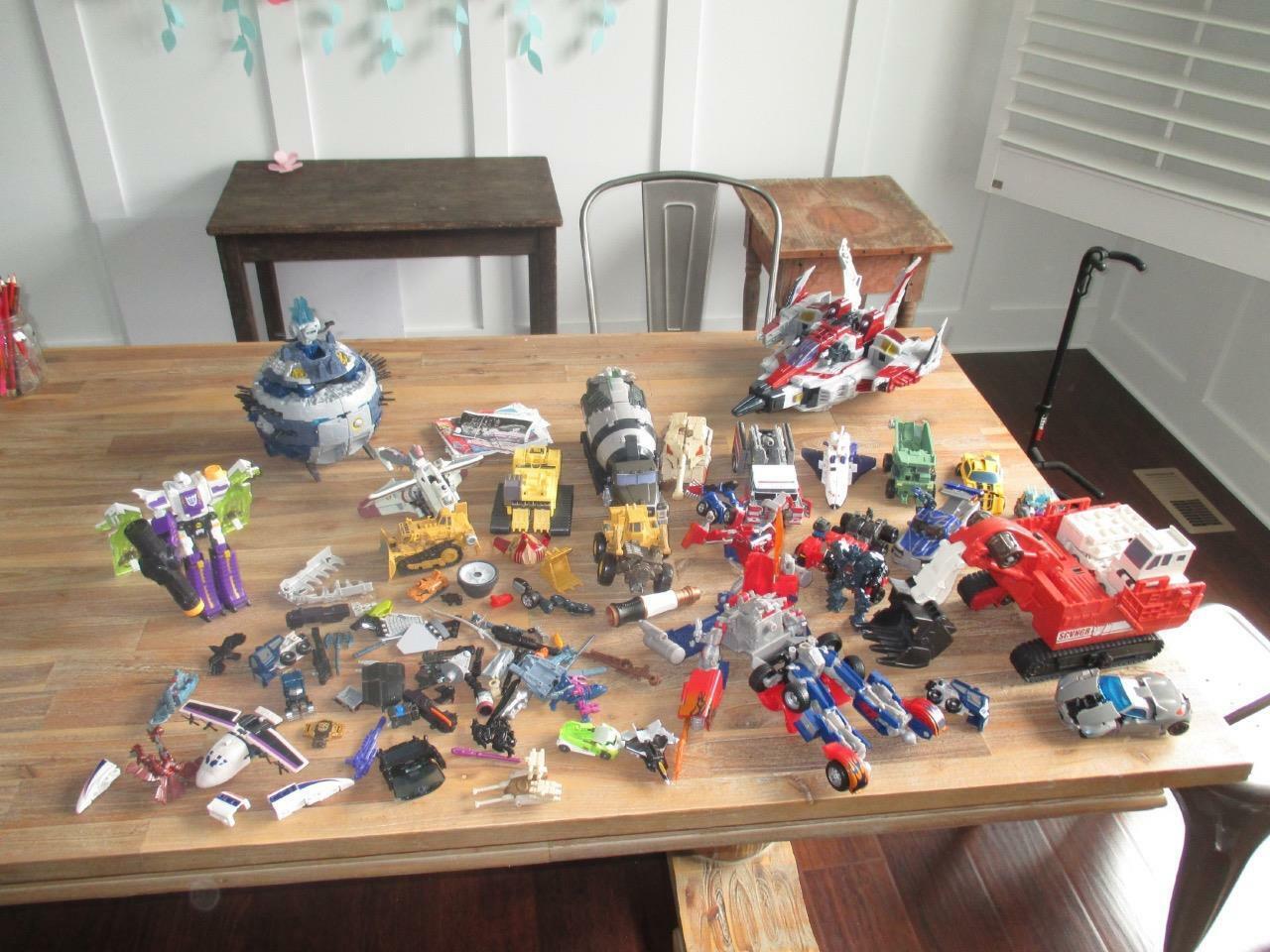 HUGE 2004-2008 Hasbro Transformers Lot Optimus Prime ++++ Transformer