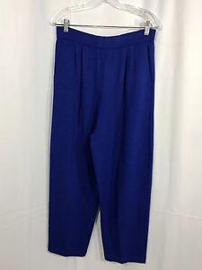 Femme St John Pantalon Separates 12 Bleu pour Knit Santana wx0Tx4q6r