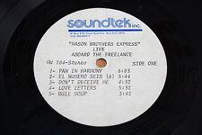 Mason Brothers Express ACETATE / Live Aboard the freelance / Funk Soul Reggae