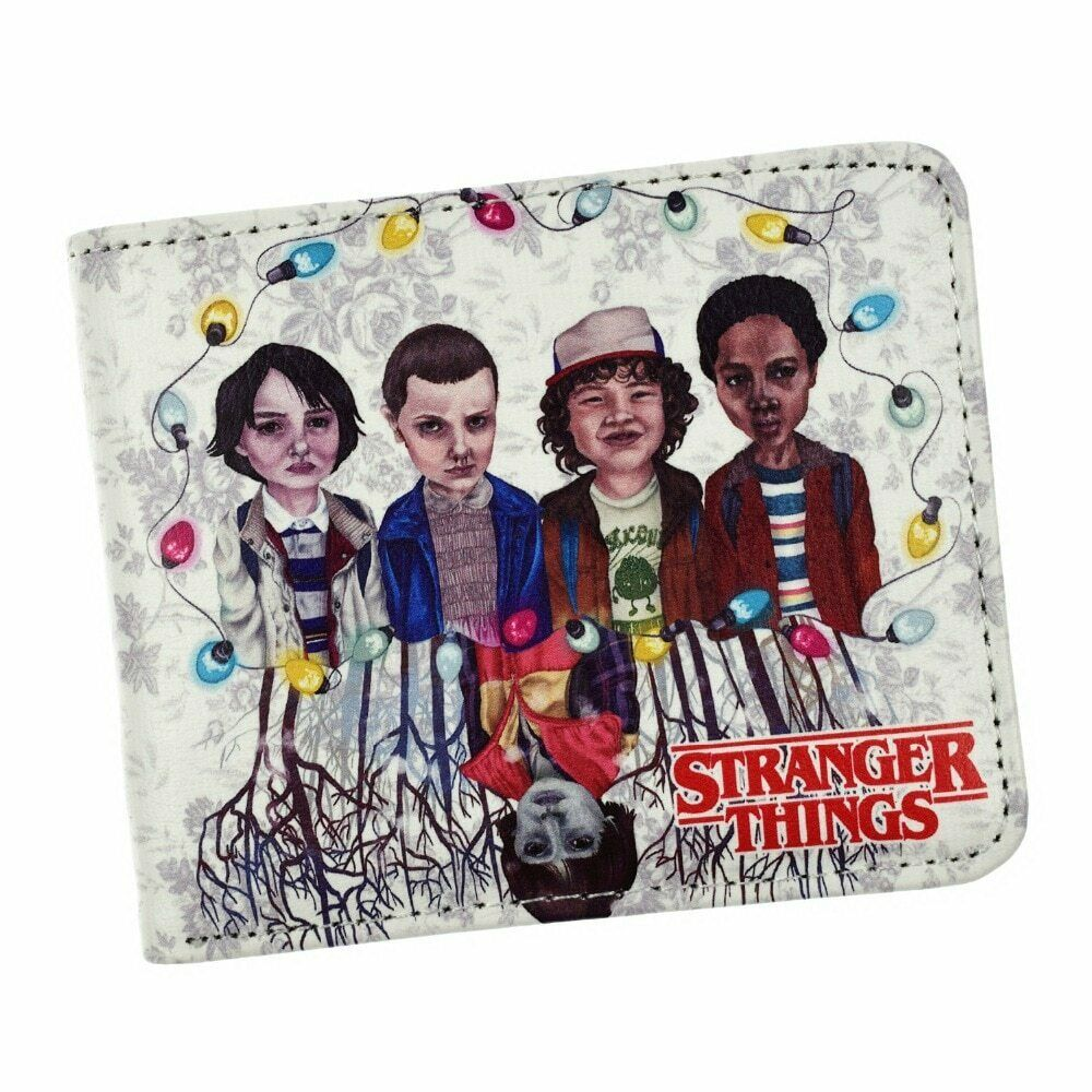 2020 🔥✔️New Arrival Anime Stranger Things Wallet Coin Purse Cartoon Wallets✔️🔥