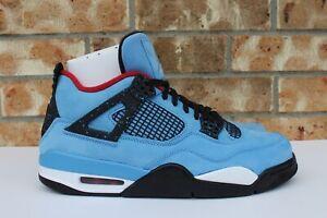 Men-039-s-Nike-Air-Jordan-IV-4-Retro-Cactus-Jack-Travis-Scott-Sz-10-5-12-308497-406