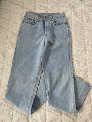 Vtg 1980s Calvin Klein High Waisted Enzyme Wash Mom Jeans Made in Italy Sz 10 | eBay
