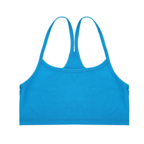 Women Summer Plain Sleeveless Basic Camisole Slim Crop Top T-Shirt Vest Tank Top