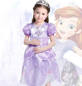 Image is loading Sofia-The-First-Disney-Princess-Girls-Fancy-Dresses-  sc 1 st  eBay : sofia the first costume toddler  - Germanpascual.Com