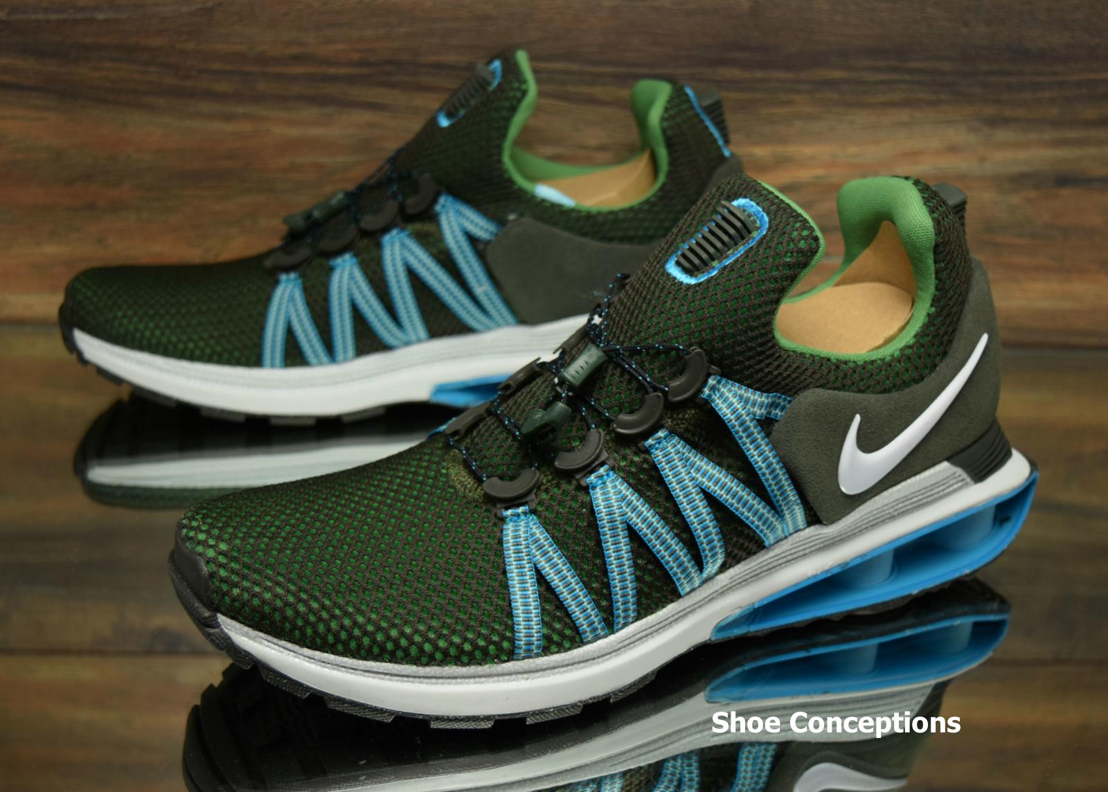 Nike Shox Gravity Sequoia Green AR1999-300 Running Running Running shoes Men's - Multi Size 5bfe53