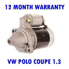 VW POLO COUPE 1.3 1986-1990 RMFD STARTER MOTOR 12 MONTH WARRANTY