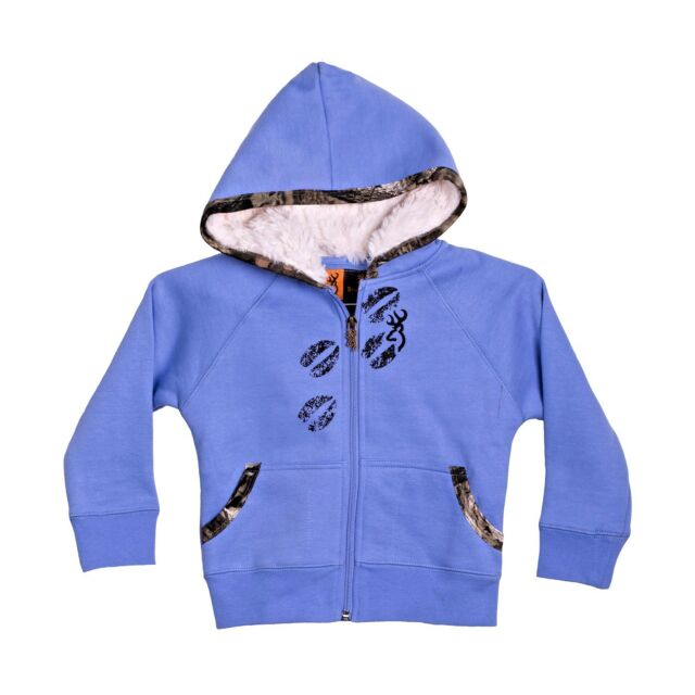 9162167121482 Browning Buckmark CUTE Toddler 2T Cornflower Blue KatyDid Full-Zip Hoodie  NEW