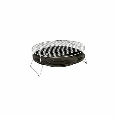 Portable Round BBQ Bowl 36cm Charcoal Barbecue Outdoor Camping Party Grill