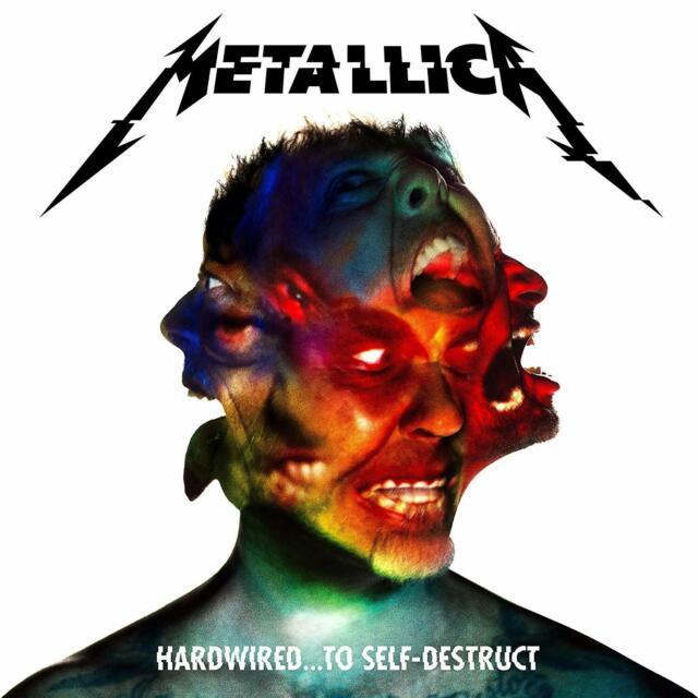 METALLICA – HARDWIRED...TO SELF-DESTRUCT 2X 180G VINYL LP INC DOWNLOAD (NEW)