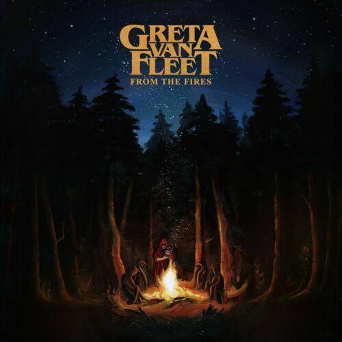 14x14 24x24 Greta Van Fleet From the Fires Music Album Poster Decor E925