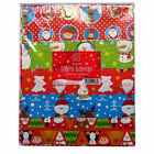 3 x 15 Sheets Assorted Designs Cute & Traditional Christmas Gift Wrapping Paper
