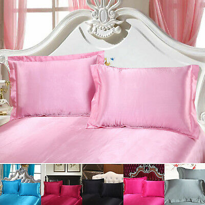 Hot Pure Mulberry Silk Pillow Case Pillowcase Covers Housewife Queen Standard Firm In Structure Pillow Cases